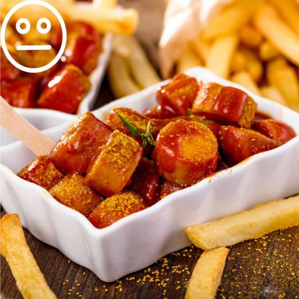 Currywurst Scharf
