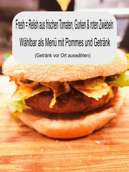 Xl Veggie Burger